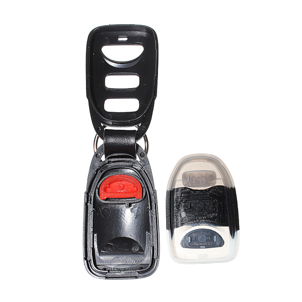New 3 Buttons 1 Panic Remote Key Shell For Hyundai For Elantra For Sonata Fe 2006 2007 2008 2009