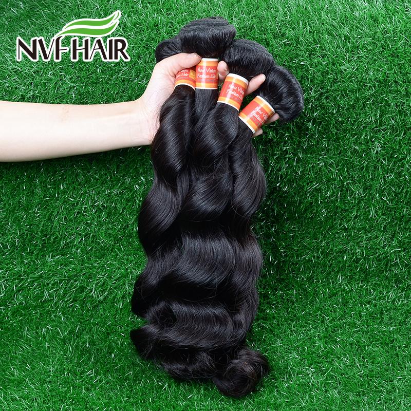 Remy malaysian loose wave hair natural human hair weave 4 bundles 100% unprocessed malaysian loose wave virgin hair(China (Mainland))