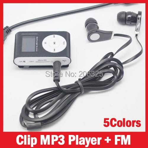 MP3-плеер MP3 Player MP3 + FM MP3 8 16 32 5Colors zuname штабеля mp3