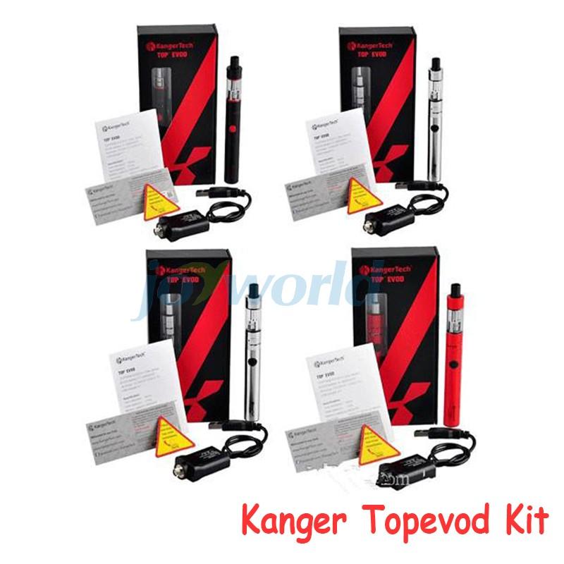 Kanger TopEvod Kit Start Kit Original Authentic kangertech top evod kits starter kit 650mAh 1.6ml electronic cigarettes YY (3)