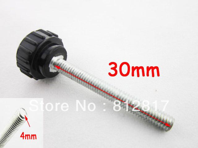 Furniture Handel and Knob 30mm Thread Length Knurled Knob 5pcs/lot Wholesale Price