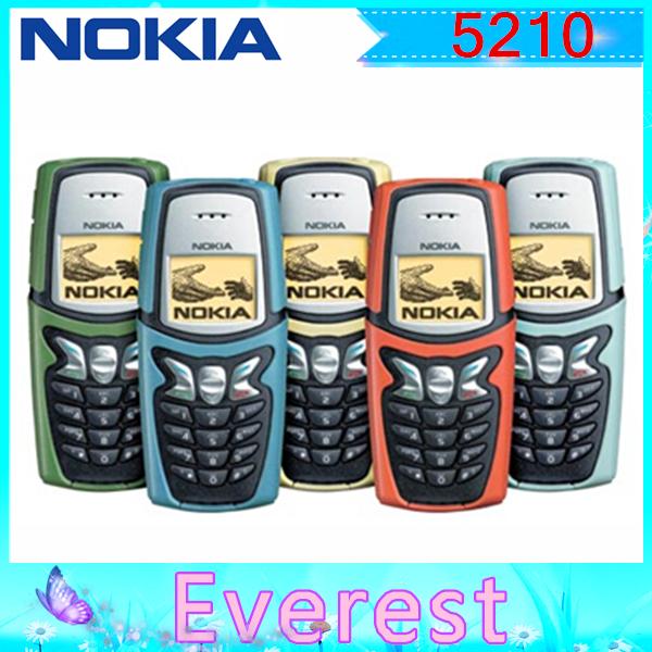 Original Unlocked Nokia 5210 mobile phone Dualband Classic Cheap Cell phone with polish Russian language(China (Mainland))