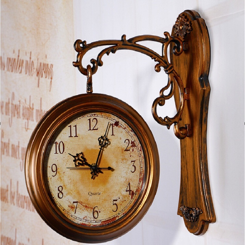 achetez en gros grand vintage horloges murales en ligne des grossistes grand vintage horloges. Black Bedroom Furniture Sets. Home Design Ideas