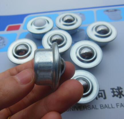 24mm bull bovine eye ball wheel universal ball bearing balls 5 / 8H transport round universal cooker round ball(China (Mainland))