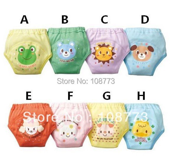 Baby Diaper Washable Reusable bebe nappy changing cotton potty training pant coolababy cloth diaper sassy reutilizaveis BC-12  -  Lucinda's Potato store