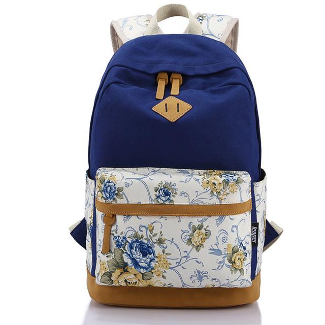 Рюкзаки новинка качество печать холст школьные сумки для ноутбука рюкзак дорожные сумки для девочек женщины Bolsas Mochila эсколар