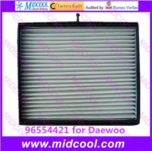 Бесплатная доставка Высокая qulality Воздушный Фильтр салонный фильтр нетканых материалов для 96554421