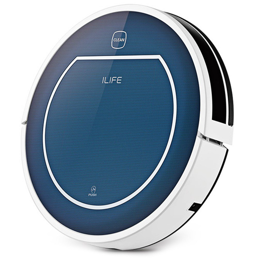 2016 NEW ILIFE V7 Mop Vacuum Cleaners Smart Sweeping Robot Automatic Rechargeable Vacuum Cleaner Remote Controlled Dust Cleaning(China (Mainland))