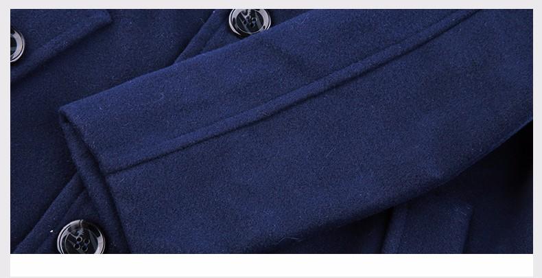 Скидки на SOGNI ДЕТИ Мальчики Одежды отложным Воротником Двубортный Куртки Верхняя Одежда Новые Зимние Мальчики Шерстяные Пальто Бренда Детской Одежды