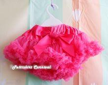 Newborn Baby Girl Hot Pink Pettiskirt Pettiskirt Tutu 0-6M(Hong Kong)