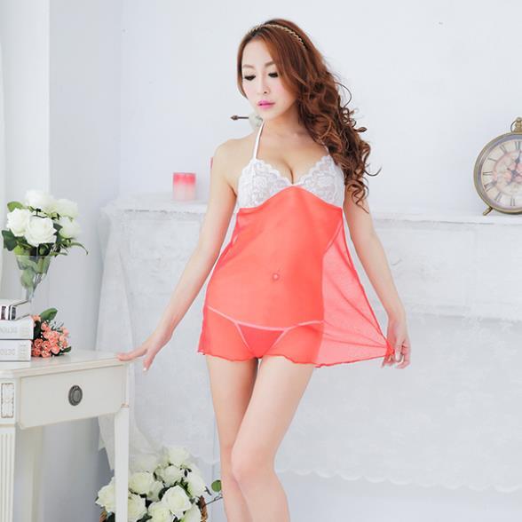 FreeShipping Womens Sexy Lingerie Lace Dress Underwear Babydoll Sleepwear+G-stringОдежда и ак�е��уары<br><br><br>Aliexpress