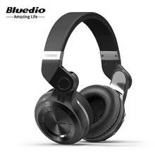 Bluedio T2 Wireless Bluetooth 4.1 Stereo Headphone Noise Canceling Rotating Foldable Headset With Microphone High Bass Quality