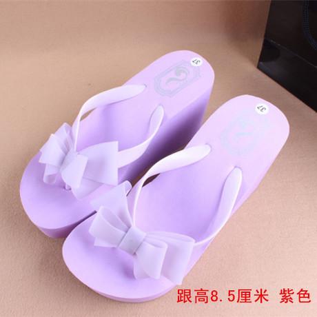 2015 New Sandal Woman Flip Flops,Ladies' Elegant Flat Sandals Wedges Platform Sandals Beach Slippers Black White Blue
