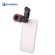 Universal 8X Phone Telephoto Camera Lens Special Design  with Clip Mobile Phone Lens for iPhone for Samsung for HTC Smart Phone(China (Mainland))