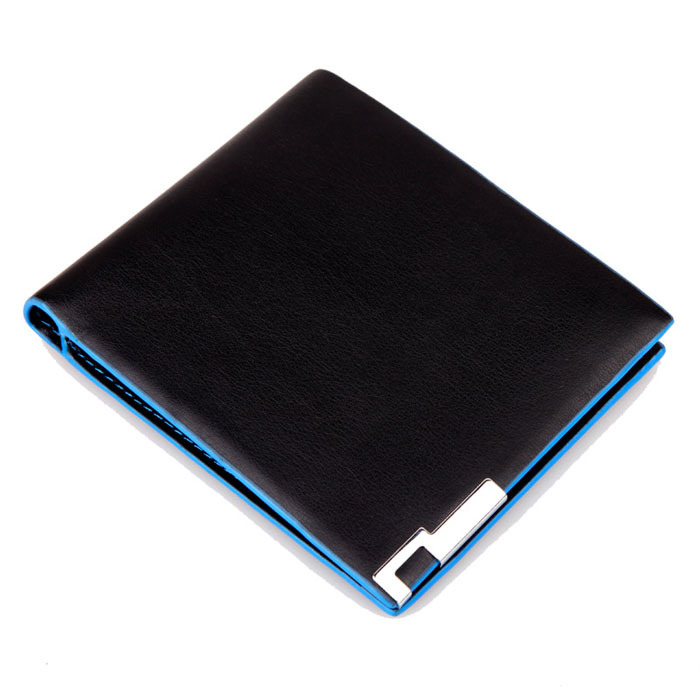 2015 New Fashion Bifold Business Leather Men's Wallet Casual Card Holder Coin Wallet Purse High Quality Wallet For Men Hot Sale(China (Mainland))