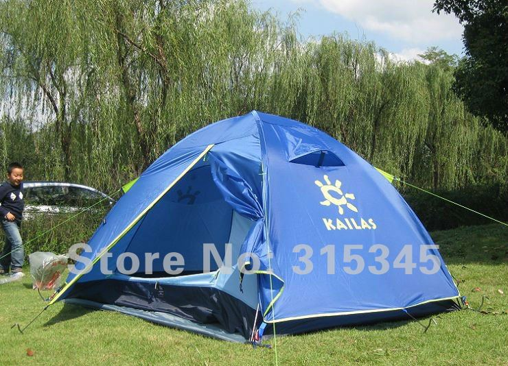 New KAILAS Camping Tent 2 Person aluminium pole outdoor tent Double Layer Family Tent(China (Mainland))