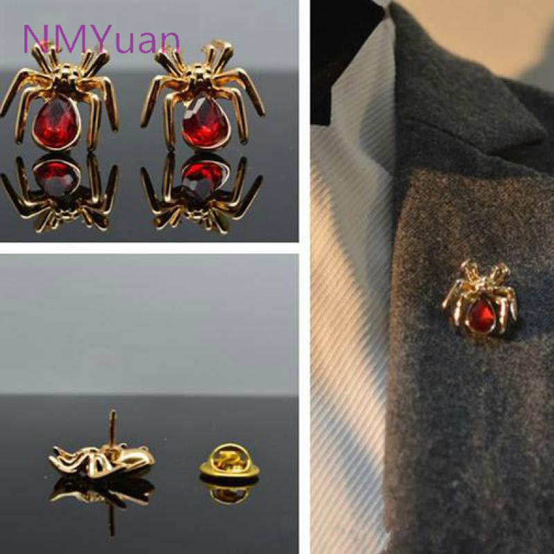 2015 Fangzuan Multicolor Fashion Simple Small Insects Spider Brooch Jewelry / Personalized Fashion Brooch(China (Mainland))