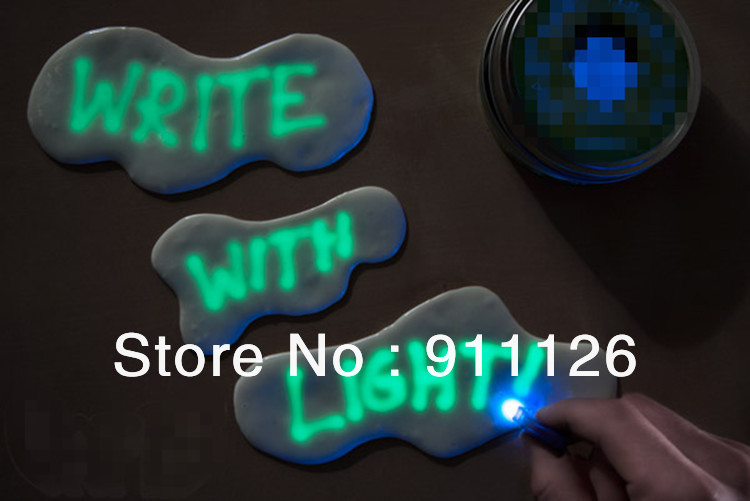 Free shipping 1pc Fashion Luminous Magnetic Putty Magnetic Playdough Magnetic Bouncing ball plasticine Creative Educational toys(China (Mainland))