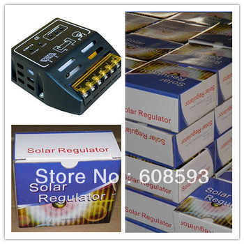 Special promotion!!  Free shipping 15A 12V/24V solar charge controller , solar regulater for solar streetlight home use