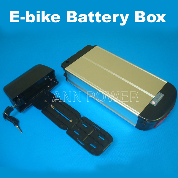 Electric bicycle case 36v lithium ion battery box 36v E-bike battery case used for 36V 8A 10A 12A li-ion battery pack(China (Mainland))