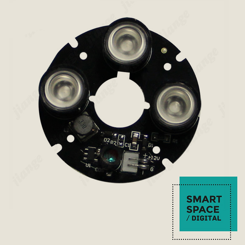 Applicable to the 60 shell sixth generation array infrared light board 42MLI array camera 3PCS lamp(China (Mainland))