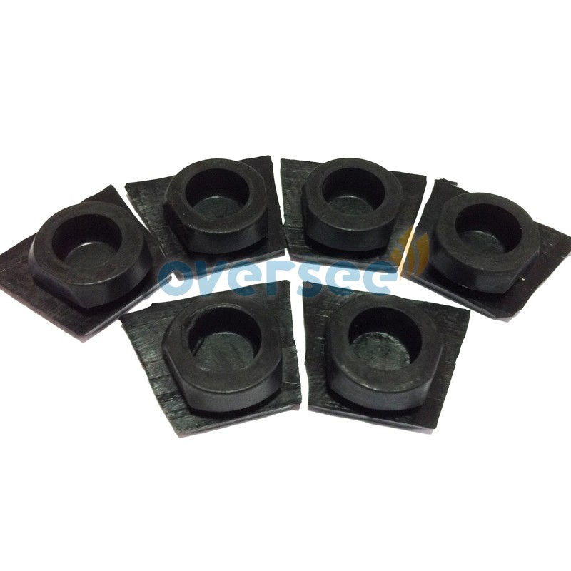 40hp cap rubber mount 63d 45155 00 for 40hp parsun hidea for Yamaha outboard motor mount