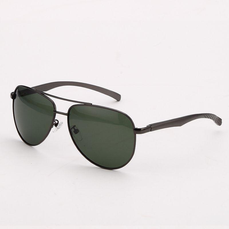 Polarized Sunglasses For Men Alloy Frame Polarised Green ...