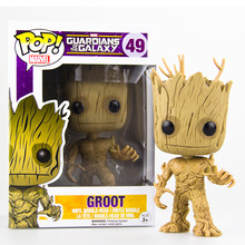 5″ Funko Pop Groot Star-Lord Tree man Guardians of the Galaxy Anime Movie Vinyl PVC Collection Action Figure Model PVC Kids Toys