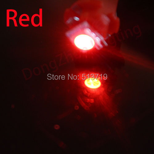1X Auto 5050 B8.5 LED Car T5 B8.5d LED 5050 Gauge Speedo Bulb Dashboard Instrument Dash Side Light Source Interior Lighting 12V