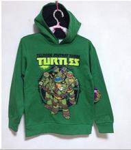 2016 Hot sale Baby kids Boys girls Kids Spiderman Sweatshirt teenage mutant ninja turtles Hoodies children's hoody clothes(China (Mainland))