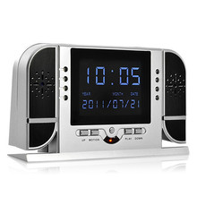 Digital Clock with IR Night Vision Camera Remote Control-720P Video DVR LCD Screen(China (Mainland))