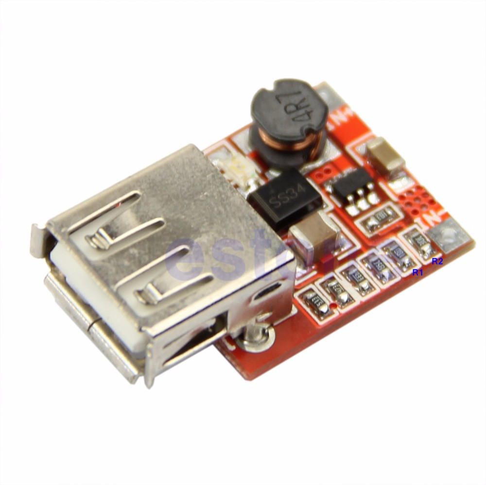 image for New DC DC Converter Step Up Boost Module 3V To 5V 1A USB Charger For M