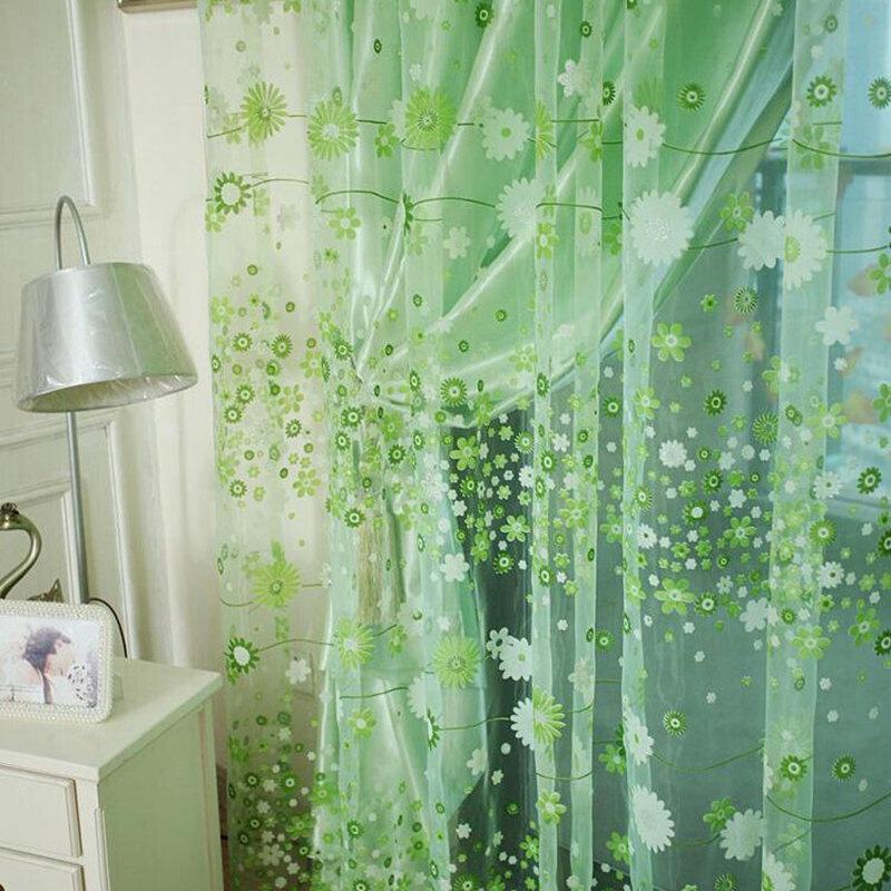 online kaufen gro handel sheer fl chenvorh nge aus china. Black Bedroom Furniture Sets. Home Design Ideas