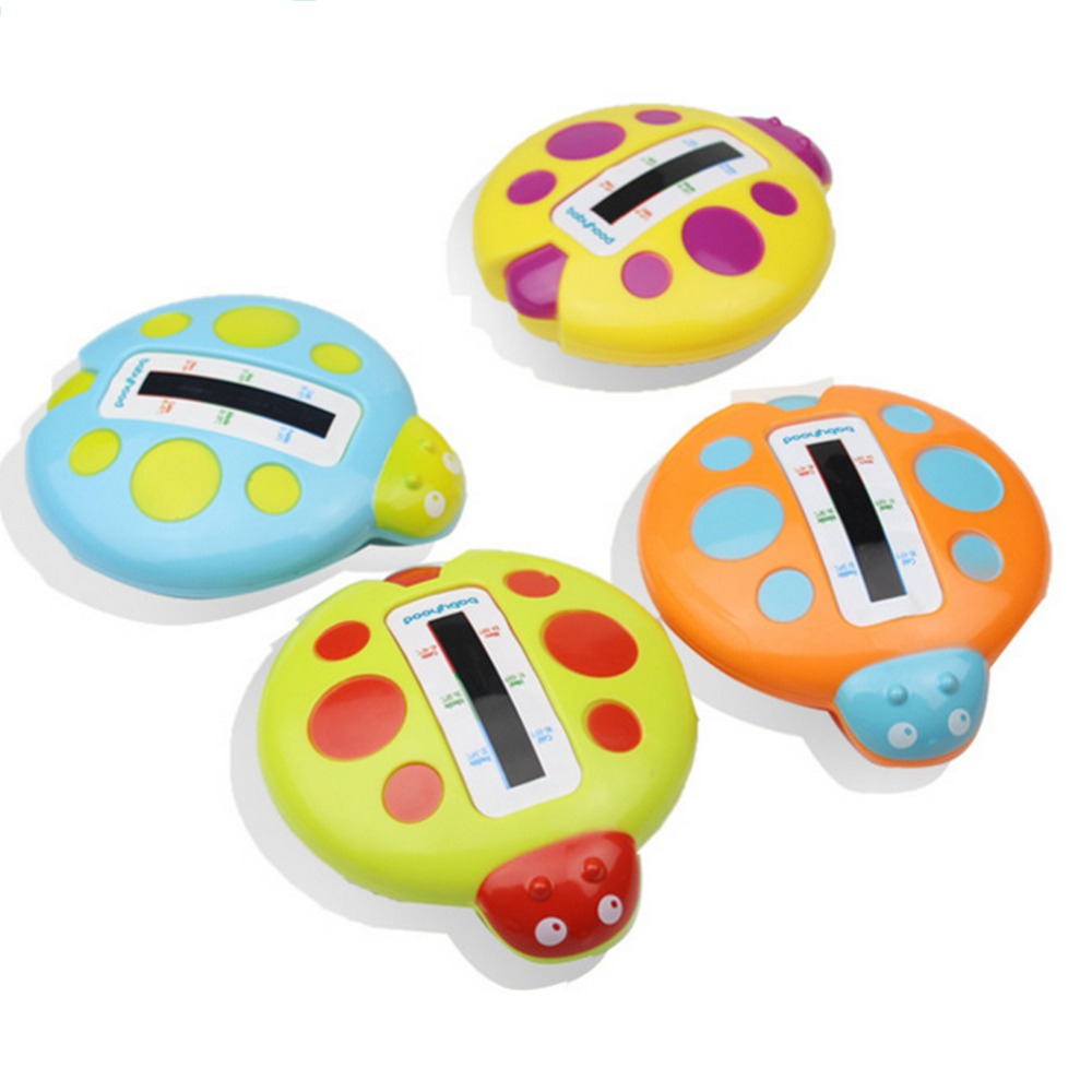 Lovely baby seven star water temperature meter thermometer baby bath toys safety shower products 4 colors(China (Mainland))