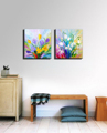 Muti piece flower mother s day gift decorative prints modern printed canvas painting wall picture for
