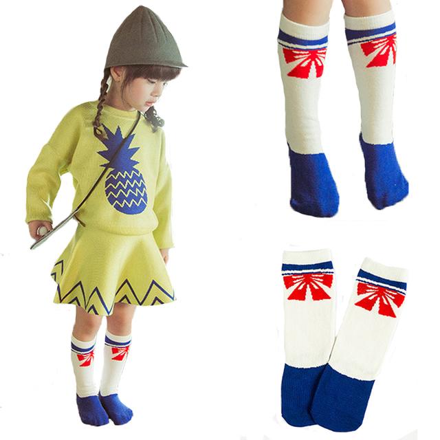 Мультфильм детские гольфы дети зимой животное детские носки спортивные теплые девочек ...