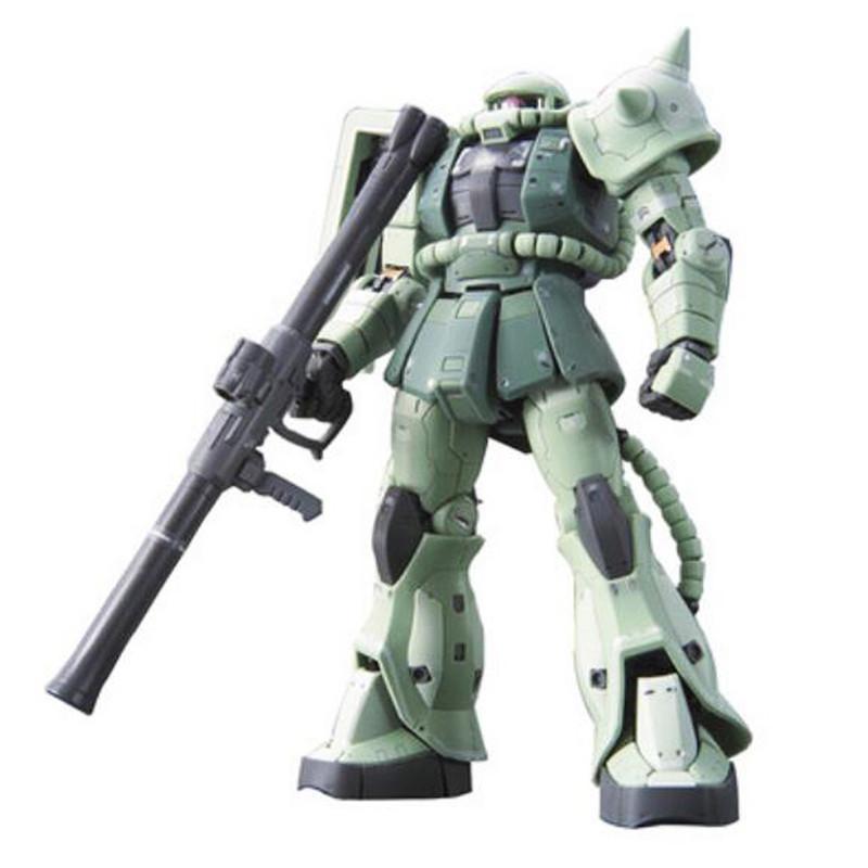 Starz BANDAI RG 1/144 MS-06F ZAKU II GUNDAM Model Anime Building Kits Figures Colletion Toys