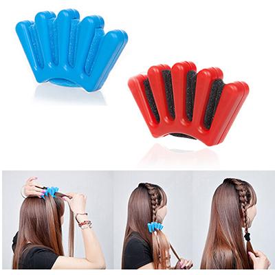 2015 New Arrival DIY Hair Braider Stylist Curl Hair Twist Sponge Styling Braiding Tool 1PCS Hotsale(China (Mainland))