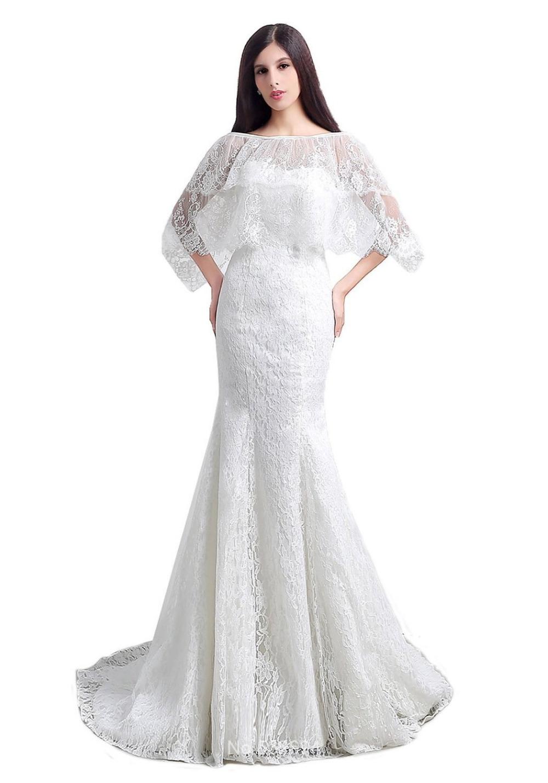 ... avec Applique dentelle Lace Up robes de mariée de robe de mariage