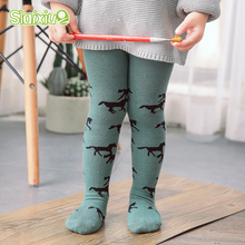 Geometric Pattern Baby Girls Stocking Children's Tights Toddler Boys Girls Tights Pantyhose Kids Stocking Infant Clothing 0-3Y