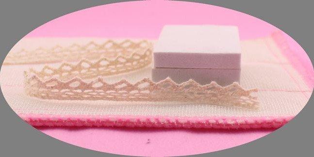 Wholesale 1.1 cm cotton lace trim,garment/shoes lace,Christmas gift packing lace,DIY clothing accessories,lace trim,flower lace