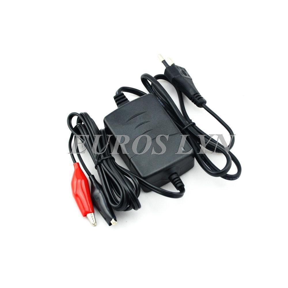 12V 0.8A motorcycle car lead acid battery charger for 12V SLA, GEL, AGM, VRLA battery, for 12V lawn mower(China (Mainland))