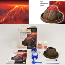 1pcs Volcanic eruptions DIY science experiment kit of physical chemistry experiment(China (Mainland))
