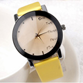 Relojes mujer 2016 PU Leather Wrist watch Bracelet Quartz watch Woman Ladies Watches Clock Female Dress