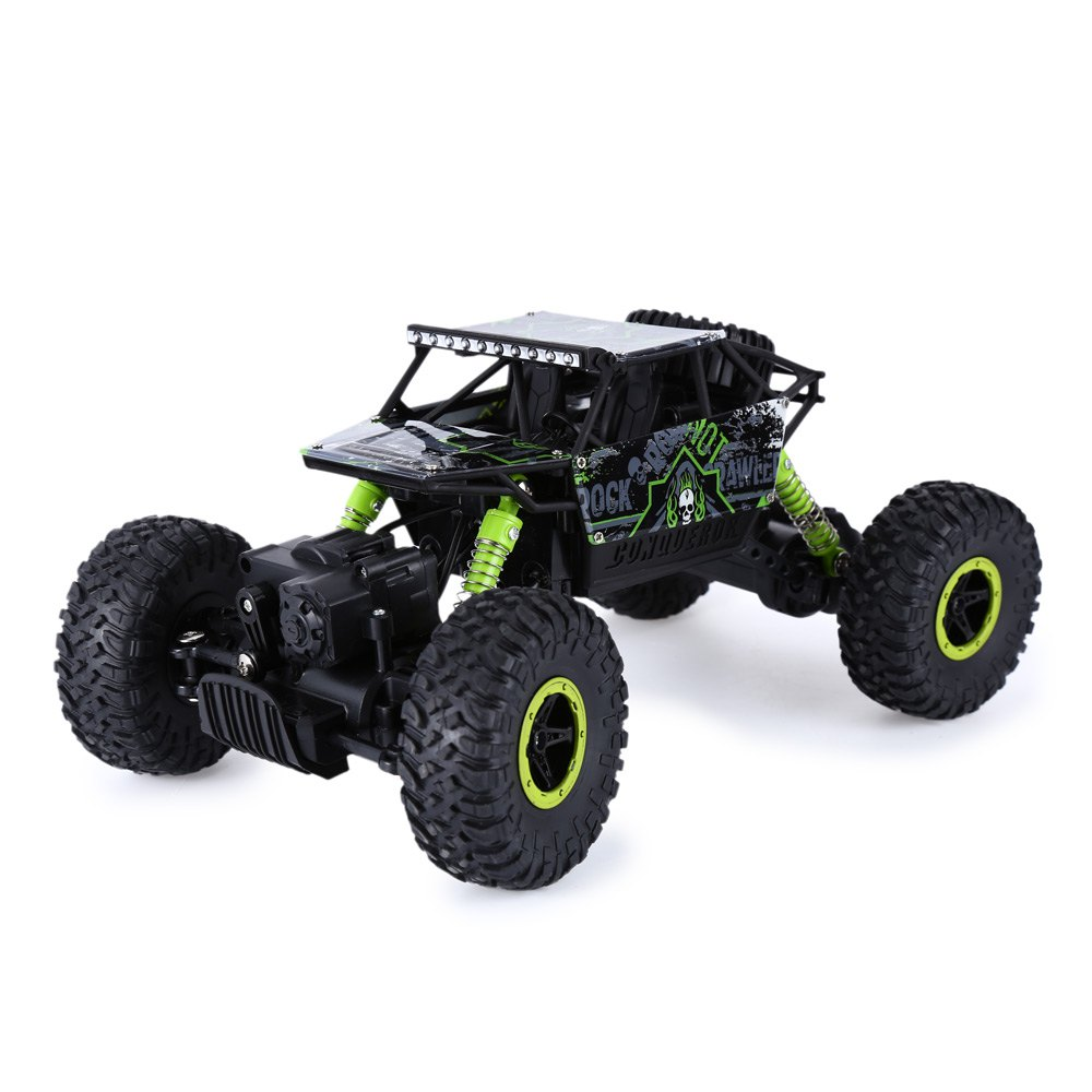 Hot Sale RC Car 2.4Ghz 1/18 Scale Remote Radio Control 4 Wheel Drive Rock Crawler Toy Car Best Gift for Children(China (Mainland))