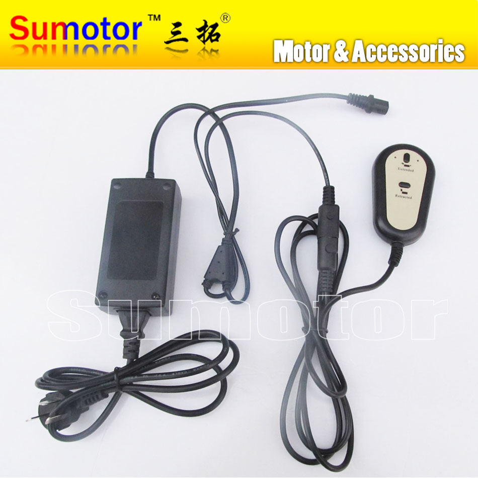 Input AC 220V,DC 24V 5A,For 1 Linear actuator controller Progressive Automations control kit(China (Mainland))