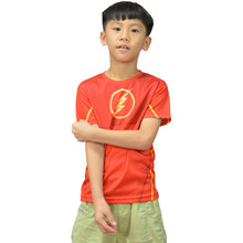 Buy 2016 children tight workout clothes short sleeves T-shirt breathable T-shirt hero alliance quick drying for $13.49 in AliExpress store