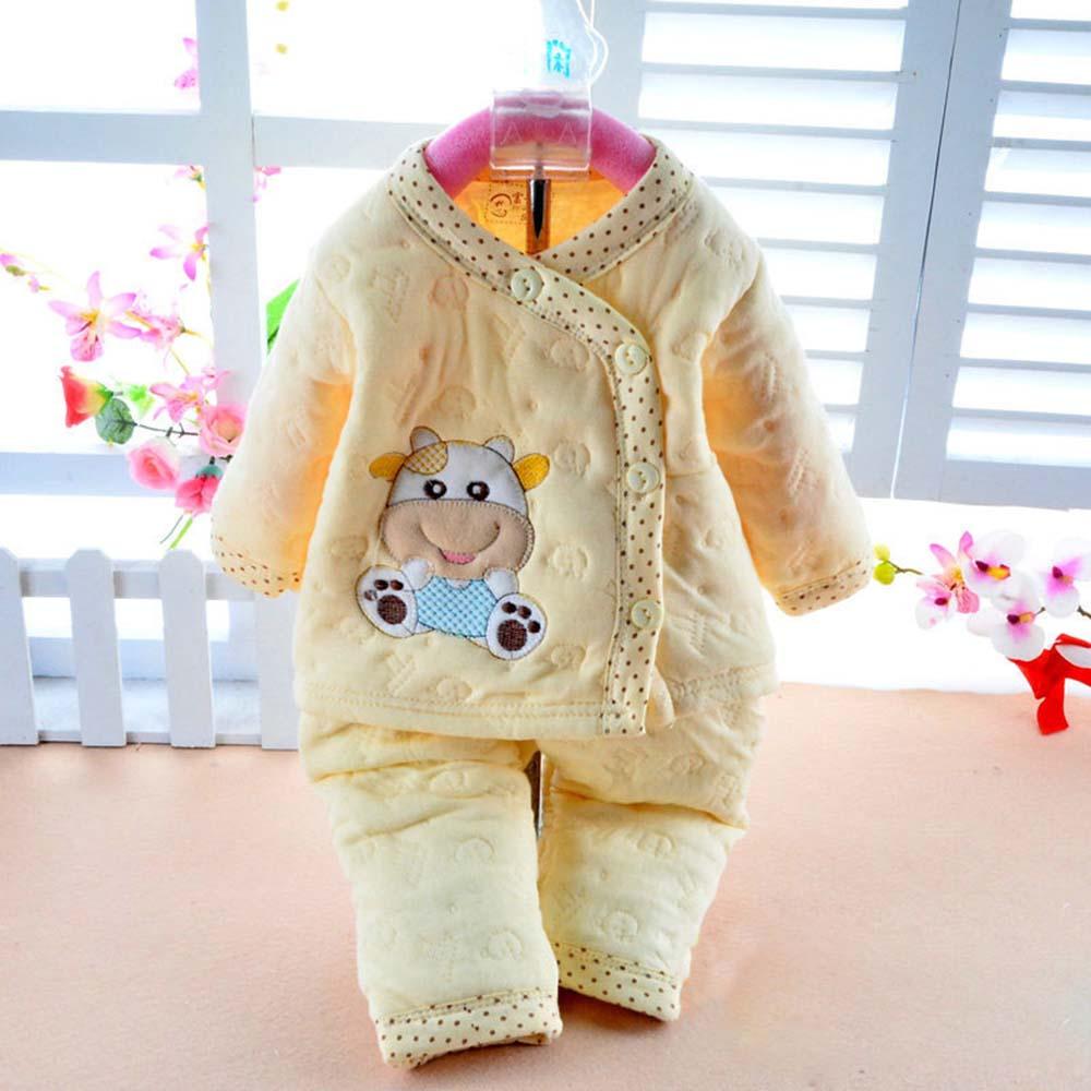 Newborn Baby Girls Clothes Winter Set Thermal Underwear