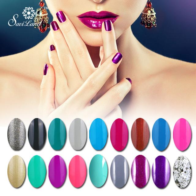 Saviland цвет лака для ногтей уф-гель исчезают гель lacuqer помочь с настроение лак ...