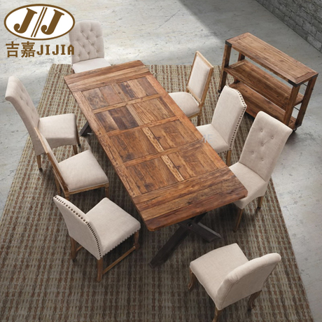American home to do the old wrought iron wood dinette - Table a manger pliable ...